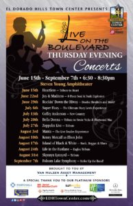 EDH Town Center Concerts Begin June 15