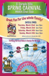El Dorado Hills Spring Carnival Coming Soon…